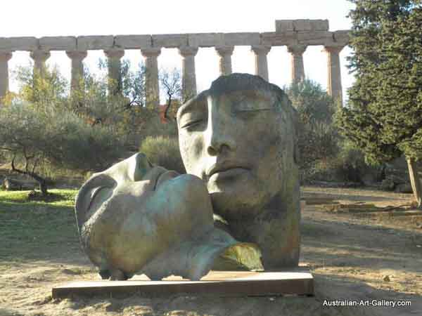 Igor Mitoraj sculptures at Valley of the Temples