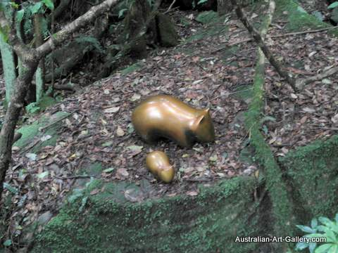 Sculpture at Scenic World 2012