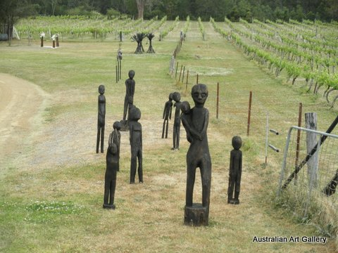 Sculpture in the Vineyards 2012