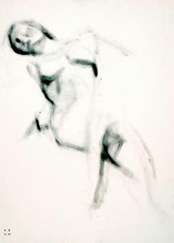 `Untitled`, 2004, graphite on