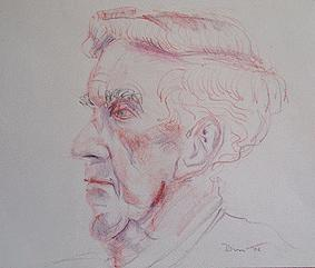 `Ken` colour pencil portrait s