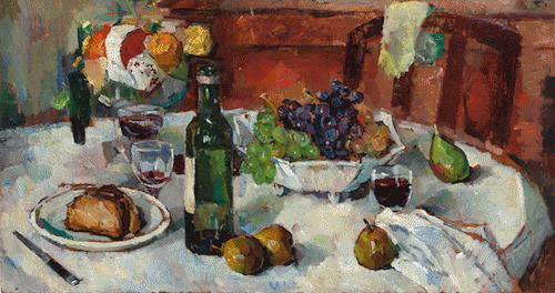 Bessie Davidson Autumn Table a