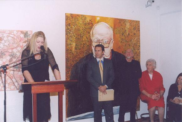 Kerrie Lester opening `A Stitc